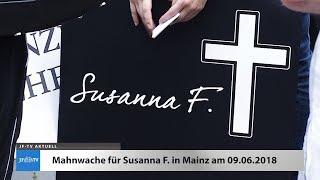 Susanna F: Mahnwache in Mainz