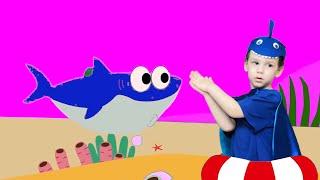 Baby Shark Dance with Song Puppets | 동요와 아이 노래  어린이 교육 Ulya Liveshow