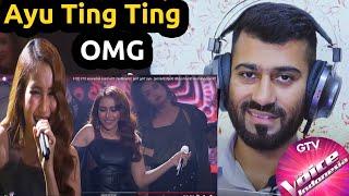 Dhoom Machale Dhoom (Aditi Singh Sharma) Ayu Ting Ting Grandfinal The Voice Indonesia REACTION