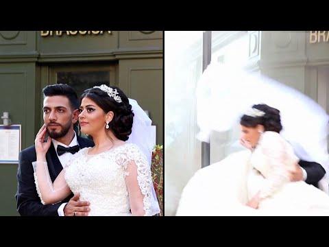 Beirut Blast Blows Out Windows Behind Wedding Couple