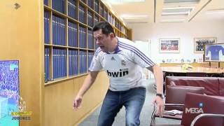 RONCERO se EMOCIONA al ver el CLÁSICO (1-2)  FCBarcelona - Real Madrid / 02/04/2016