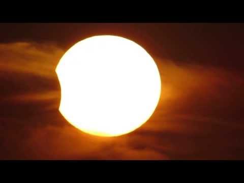 كسوف الشمس من فلسطين 3/11/2013 Solar Eclipse from Palestine