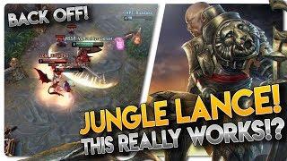 JUNGLE LANCE!! Vainglory 5v5 [Ranked] Gameplay - Lance |WP| Jungle Gameplay
