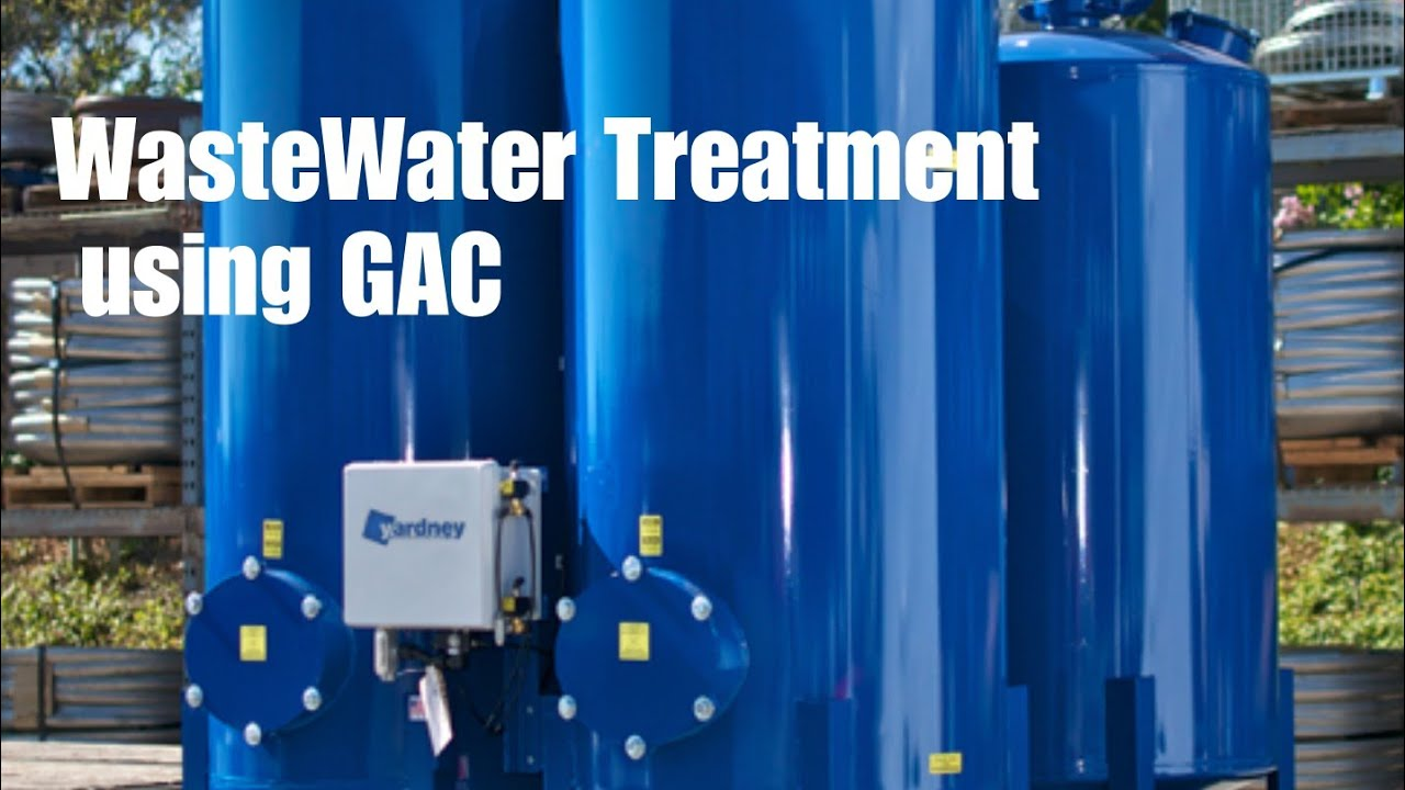 granular activated carbon in water   waste water treatment