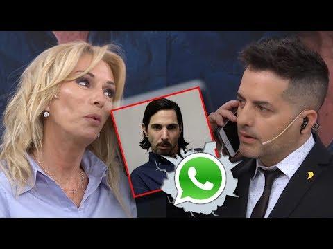 Ángel de Brito escuchó en vivo los audios que el Gigoló le mandaba a Yanina Latorre