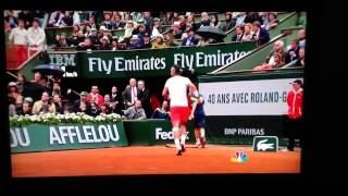 Nadal Almost Gets Attacked at Roland Garros