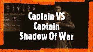 Captain VS Captain Fight | Middle earth Shadow of War | Game Guru