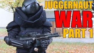 AIRSOFT WAR   WAR OF THE JUGGERNAUTS PART 1