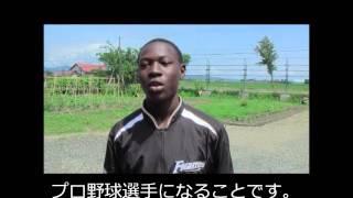 西アフリカのブルキナファソの野球の普及活動を行っています。 2013年 ...