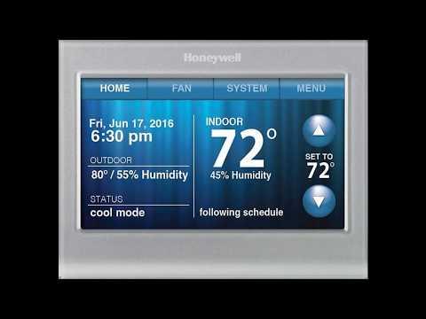 Honeywell RTH9580 Thermostat Issue