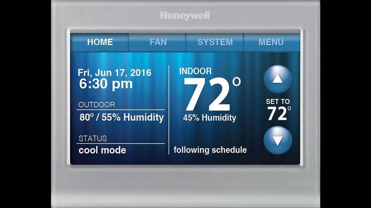 Honeywell Rth9580 Thermostat Issue