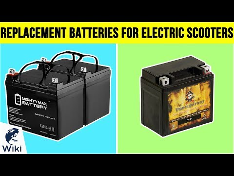 9 Best Replacement Batteries For Electric Scooters 2019