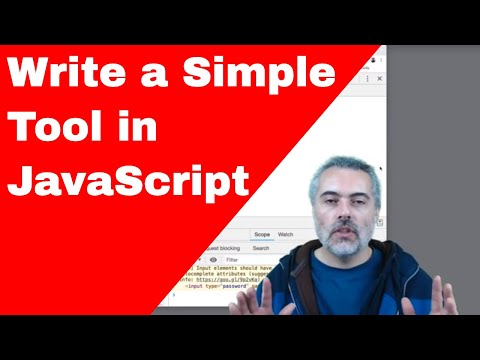 JavaScript Tutorial Creating a CounterString tool in Chrome Browser Dev Tools Snippets thumbnail