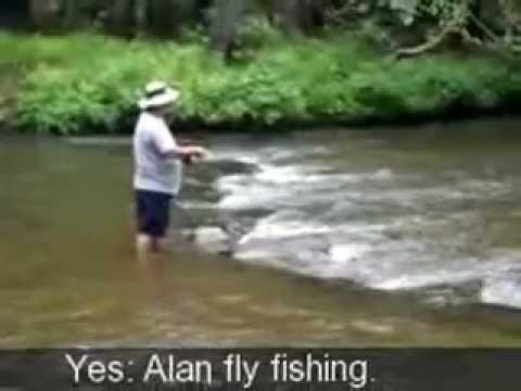 Fly Fishing the Cooper Creek in Georgia