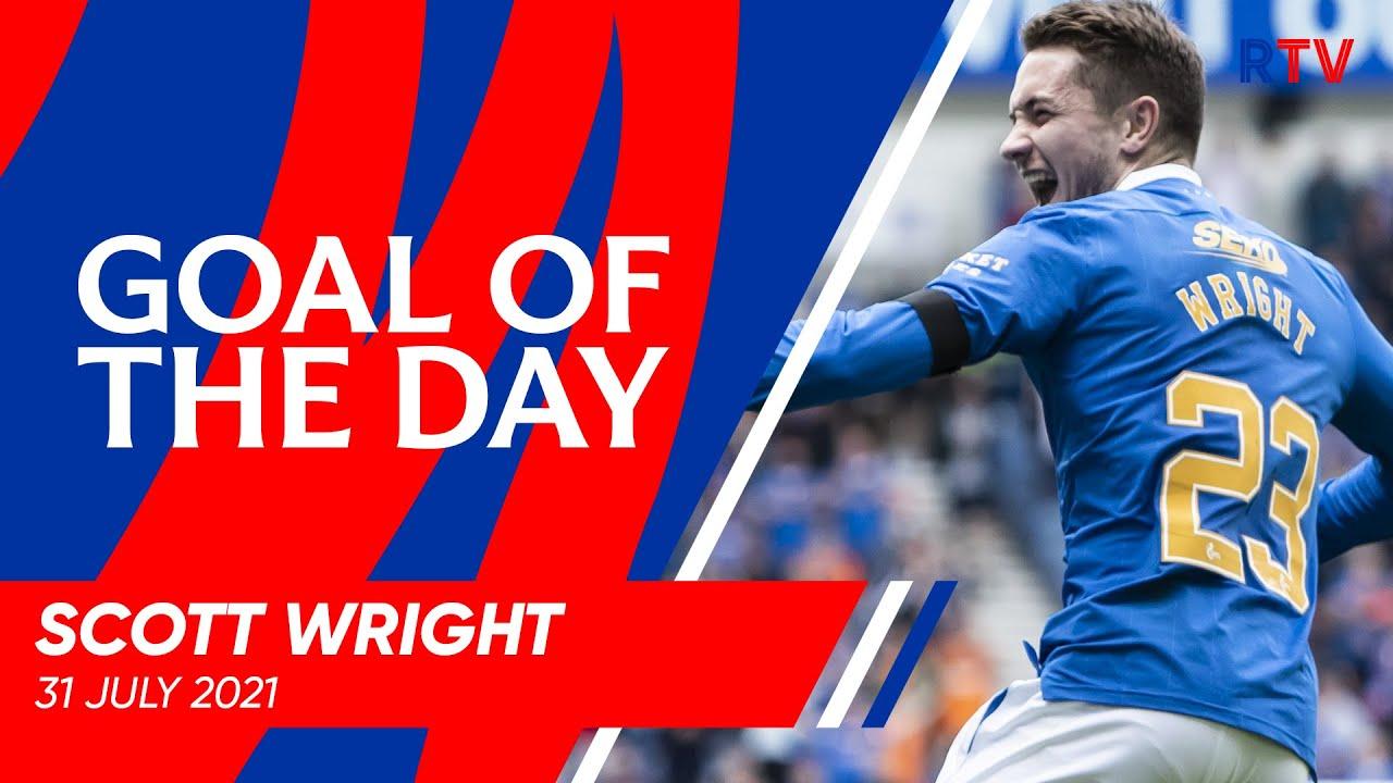 GOAL OF THE DAY   Scott Wright v Livingston 2021
