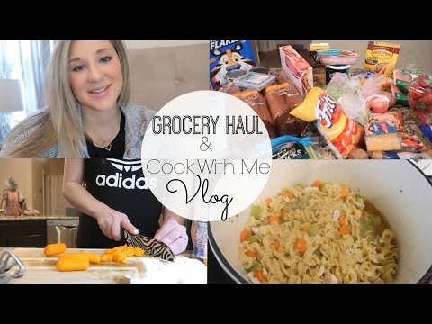 GROCERY HAUL AND COOK WITH ME VLOG   A DAY IN THE LIFE
