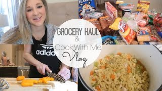 GROCERY HAUL AND COOK WITH ME VLOG | A DAY IN THE LIFE