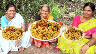 Pasta Recipe || Easy and Quick Pasta in Red Sauce by Grandma || Myna Tasty Food