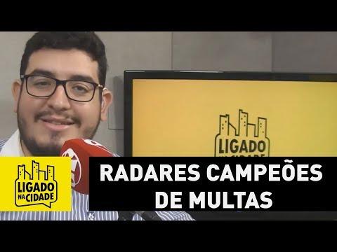Ligado Na Cidade Mostra Um Dos Radares Campeões De Multas Em São Paulo