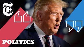 Key Takeaways From Trump's R.N.C. Speech   2020 Elections