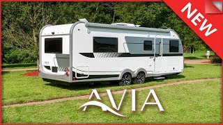 2020 Avia Travel Trailer Tour - New from nuCamp! As seen at the 2019 Hershey RV Show