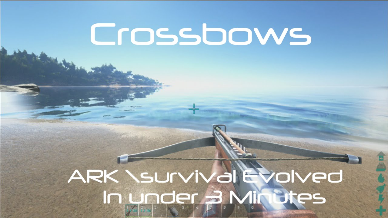 how to make a crossbow in ark