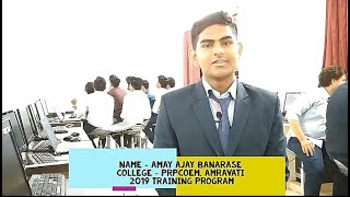 Amay banarase's Live Review of Training program...