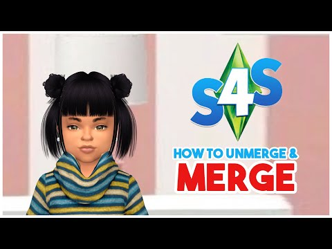 ❤️How to Unmerge & Merge Files In Sims 4 Studio (Batch