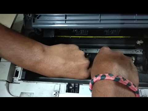 Hp p1007 p1008 Pickup roller and self test