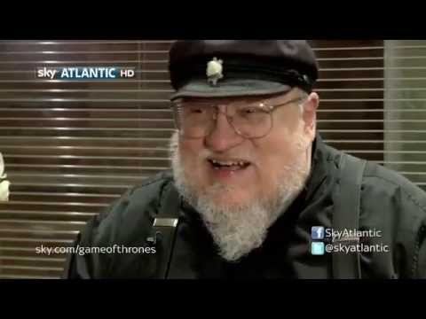 Game of Thrones: S03E09 George RR Martin Reaction