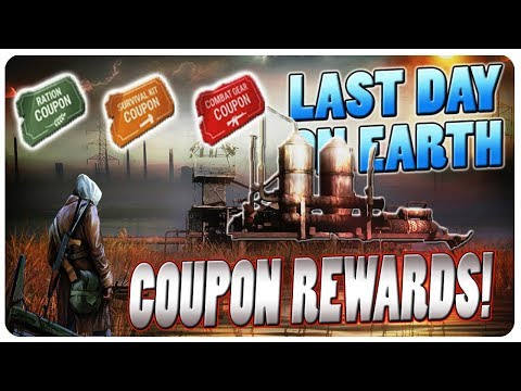 Trading The Coupons For Rare Loot Chests! | Last Day On Earth Gameplay