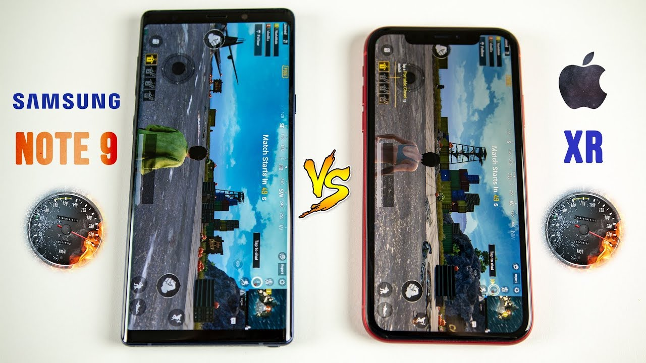 iphone xr vs galaxy note 9 speed test this was. Black Bedroom Furniture Sets. Home Design Ideas