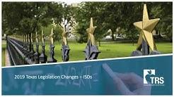 2019 Legislative Changes--ISDs
