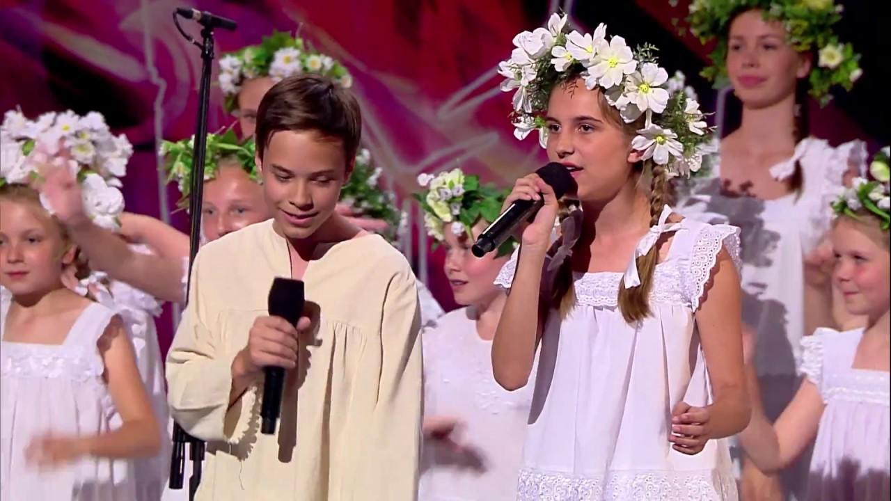 Dziecięcy chór podbił serca jurorów i widowni! [Mam Talent!]