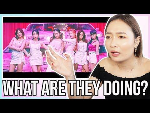 Apink(에이핑크) _ %%(Eung Eung(응응)) MV REACTION