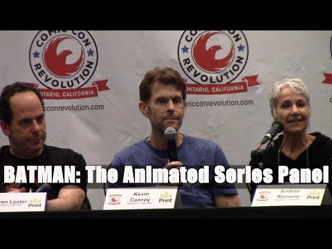 BATMAN:The Animated Series Panel with Kevin Conroy, Loren Lester, Andrea Romano, and Diane Pershing