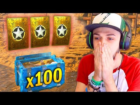 OPENING x100 SUPPLY DROPS! - COD WW2! *LIVE*