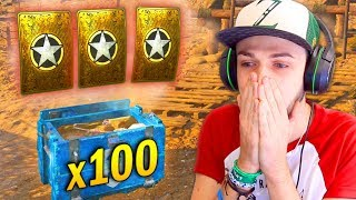 OPENING x100 SUPPLY DROPS! - COD WW2