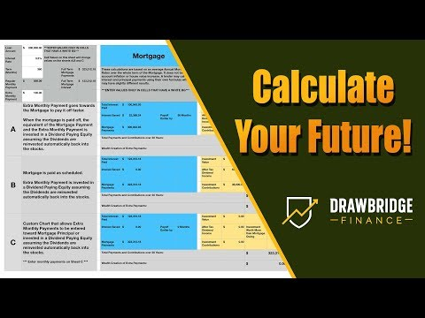 Spreadsheet: Investing Vs Extra Mortgage Payments Calculator Spreadsheet Apple Numbers And Excel