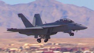 F/A-18F Super Hornet @ Nellis AFB Aviation Nation 2016
