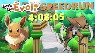LE SPEEDRUN DE LET'S GO EVOLI en 4:08:05