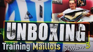 Unboxing Maillots de foot & Training ! épisode 3