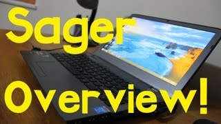 sager NP7330 / Clevo W230ST Overview!