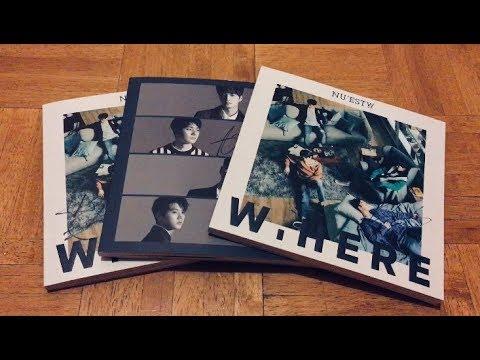 Unboxing Mwave [Signed] 뉴이스트 W NU'EST W W,HERE Albums (3 Copies!) (⁎⁍̴̛ᴗ⁍̴̛⁎)