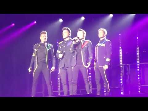 Westlife - Opening And Hello My Love - Belfast - 22nd May 2019