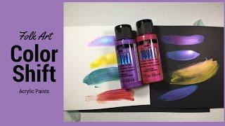 Folk Art Color Shift Acrylic Paint