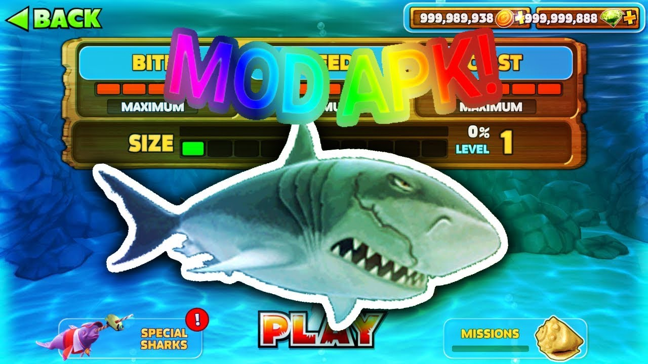 Hungry shark evolution hack download no root