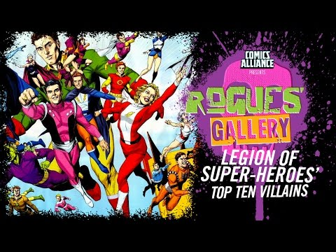 10 Greatest Legion of Super-Heroes Villains - Rogues