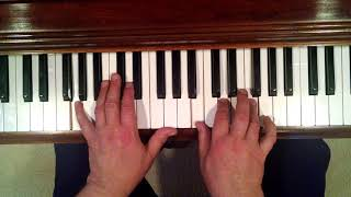 Silent Night...Piano Lesson..easy way to play