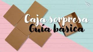 DIY ♡ Caja sorpresa | caja explosiva guía básica | Erandy Paz